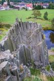 Panska Rock in Czech Republic Stock Image
