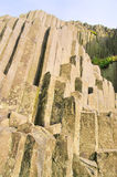 Panska Skala. Great basalt columns, a geology monument Royalty Free Stock Image