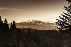 Pansky Diel. Landscape, center of Slovakia country Royalty Free Stock Image