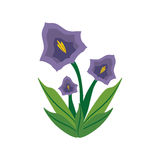 Pansy flower spring image. Illustration eps 10 Royalty Free Stock Photography