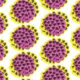 Pansy Pattern Imagenes de archivo