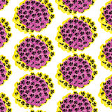 Pansy Pattern Stock Images