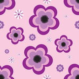 Pansy tile Royalty Free Stock Images