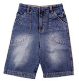 Pant's. child's shorts pant's on a background Stock Images