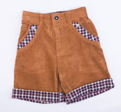Pant's or child's shorts pant's on background. Pant's or child's shorts pant's on background Royalty Free Stock Image