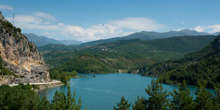 Panta D'Escala reservoir Catalonia Spain Royalty Free Stock Photos