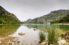 Panta de Gorg Blau auf Mallorca Stockfoto