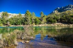 Panta de Gorg Blau, Mallorca Imagem de Stock