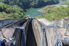 Pantabangan水坝 免版税库存图片