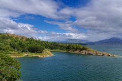 Pantabangan水坝 库存照片