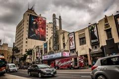 Pantages teater Hollywood arkivfoto