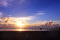 Pantai 66,巴厘岛 库存图片