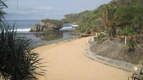 Pantai baron Stock Photography
