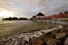 Pantai Cahaya Negeri, Hafen Dickson Stockfotos