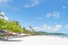 Pantai Cenang, Langkawi, Maleisië Royalty-vrije Stock Foto's