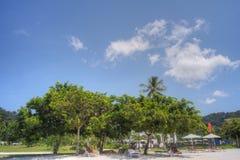 Pantai Kok, Langkawi,马来西亚 免版税库存照片