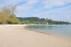 Pantai Kok strand Royaltyfri Fotografi
