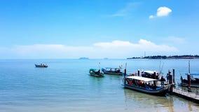 Pantai Merdeka, Kedah, Malaysia stockfotos