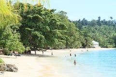 ` Pantai Pasir Putih ` пляжа Стоковая Фотография
