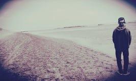 Pantai sayang heulang. Beach sayang heulang Royalty Free Stock Photography