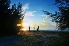 Pantai Taman Gelora Zdjęcia Stock
