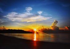 Pantai Taman Gelora Royalty Free Stock Photo