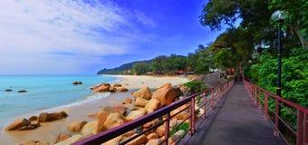 Pantai Telok Cempedak Fotografía de archivo libre de regalías