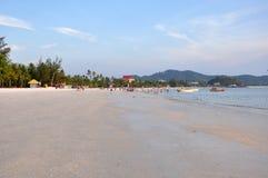 Pantai Tengah Beach. In Langkawi, Malaysia Royalty Free Stock Images