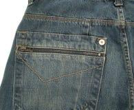 Pantalón de los pantalones vaqueros Imágenes de archivo libres de regalías