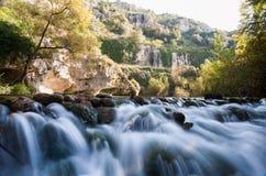 Pantalica-Flüsse Stockfotografie