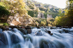 Pantalica floder Arkivbild