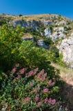 Pantalica landscapes Royalty Free Stock Photos