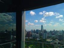 Pantalla Bangkok Tailandia de la ciudad Fotografía de archivo libre de regalías