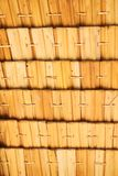 Pantalla de bambú de la armadura Imagenes de archivo