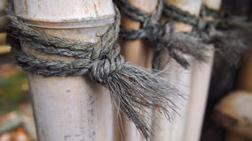 Pantalla de bambú japonesa Imagen de archivo libre de regalías