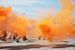 Pantalla de humo Imagenes de archivo