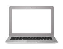 Pantalla de la computadora portátil de Ultrabook Imagen de archivo libre de regalías