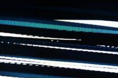 Pantalla de la interferencia TV Imagen de archivo libre de regalías