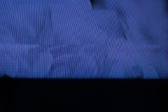 Pantalla de la interferencia TV Error análogo original en la pantalla de la TV Foto de archivo