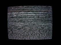 Pantalla de la TV Fotografía de archivo