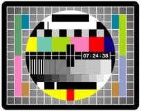 Pantalla de la TV Fotografía de archivo libre de regalías