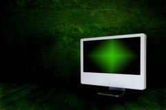 Pantalla de la TV Imagen de archivo libre de regalías