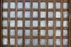 Pantalla de madera Foto de archivo libre de regalías