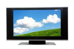 Pantalla del LCD Foto de archivo libre de regalías