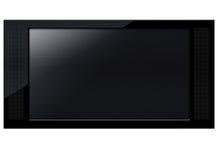 Pantalla del LCD TV Fotos de archivo libres de regalías
