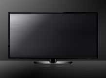 Pantalla del LCD TV Imagen de archivo