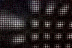 Pantalla del LED Fotos de archivo libres de regalías