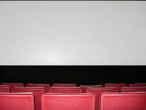 Pantalla del teatro Imagen de archivo libre de regalías