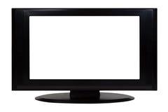 Pantalla plana TV Fotografía de archivo libre de regalías