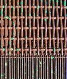 Pantalla vieja 2 del metal Fotografía de archivo